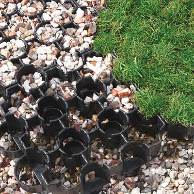 BodPave 85 gravel pavers, grass pavers for ground reinforcement