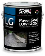 srw low gloss paver sealer
