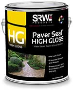 srw high gloss paver sealer