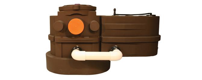 Greywater Surge Tank